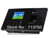 Realand Biometric Fingerprint Time Clock Recorder Attendance Employee Digital Electronic Standalone Punch Card ID Reader Machine