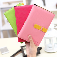 Hot-selling quality leather fashion commercial business card book of business card box clip book thin large capacity