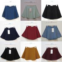 Free shipping American apparel cartoon high waist winter girl short denim skater skirt girls skirts women 2013 fashion new