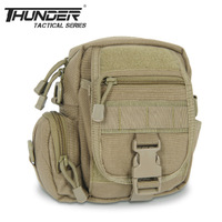 THUNDER M3 tactical waist pack Molle accessory bag multifunctional military messenger bag 1000D nylon YKK zipper free shipping