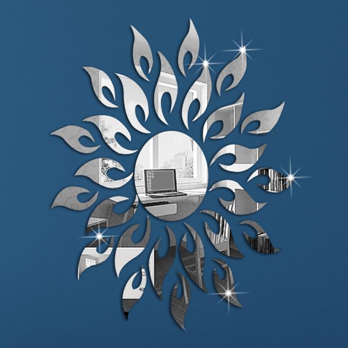 Achetez en gros miroir mural pour le salon en ligne des - Stickers muraux effet miroir ...
