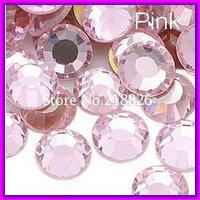 Promotion! Super Shine DIY DMC Pink/Light Rose Rhinestone ss20 (4.8-5.0mm) Flatback Iron on Crystal Stone Beads CPAM Free