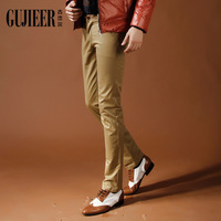 Male casual pants autumn male trousers slim trousers fashion straight skinny pants male the trend