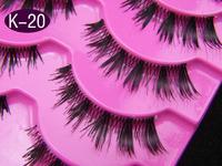 15 Pairs Japanese Star Models Of Brand False Eyelashes K-20 Handmade