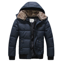2013 free shipping The new tide male male han edition cultivate one's morality men's coat to keep warm winter clothes
