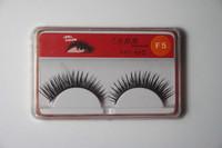 1 Pairs Black Thick False Eyelashes Fake Eye Lash
