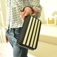 2013 fashion brief fashion piano large capacity zipper women's long design wallet day clutch