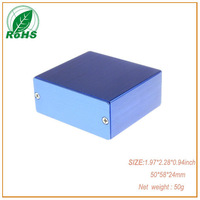 XDM05-40 small aluminium enclosure box for industrial pc enclosures 50*58*24mm 1.97*2.28*0.94inch