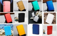 Newest Design Smoking Lighters Colorful Kerosene Lighter 12 Option Metal Lighter