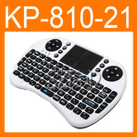 KP-810-21 2.4GHz Specific Multi-media Remote Control and Touchpad Function Handheld Keyboard 86040200210