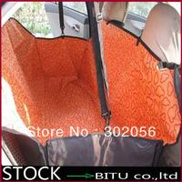 10pcs/lot Cradle Dog Car Rear Back Seat Cover Pet Blanket Hammock Waterproof Cushion BG1688