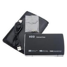 "2 5"" USB 2 0 SATA to USB Hard Drive HDD External Case Caddy Enclosure Laptop PC(China (Mainland))"