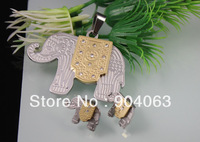 $12.00/2set New high quality Stainless steel jewelry set animal jewelry set elephant style jewelry set CS040