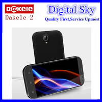 Free shipping New big cola 2 phone 5.3 Inch Quad Core 2GB RAM +32GB ROM Dual Sim MTK6589 camera 13MP Dakele 2 SmartPhone