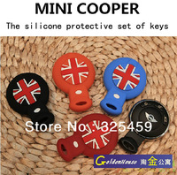 New Arrival  The silicone key sets MINI cooper key cover Mini Cooper Countryman key cover