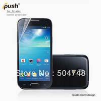 Free Shipping 5pcs/lot For Samsung Galaxy S4 Mini Screen Protector For Cellphone Screen Protect Film With Ipush Retails Package