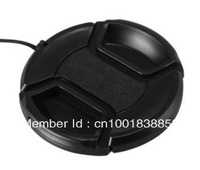 Free Shipping + Tracking Number 52mm Snap-on Front Lens Cap Cover for Canon Nikon Olympus Sony Pentax Sigma Lens