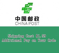 Shipping Cost $1.59 Additional Pay on Your Orde