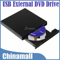 USB 2.0 Slim External Optical Combo CD-RW CD+RW Burner Drive DVD ROM CD-ROM/XA For Laptop PC Free Shipping & Drop Shipping