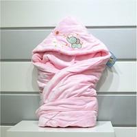 DHL Free Shipping 2013 Wholesale3pcs/lot warm Spring Autumn Winter Soft Fleece Cute Newboms Baby Sleeping Bags sleeping blanket