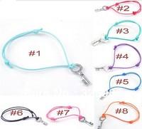 Wholesale 50pcs/Lot Hot Fashion Cuff Cotton Hemp Adjustable Handmade Braided  Bracelets Silver Key Charm Women/Men Free Shipping