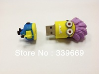Despicable Me Minions usb flash drive 2014 new cool products 8GB16GB 32GB 64GB3D memory stick thumb drive pen memory pendrive