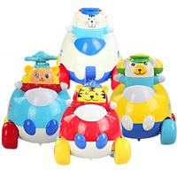 Cartoon toy car set WARRIOR inertia car infant puzzle full set  cheap toys