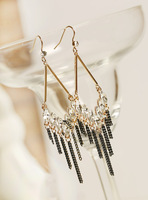 Fall in love high quality gorgeous long tassel design fashion earrings