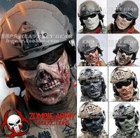 Chiefs M05 Zombie The Walking Dead Plastic Half Face Skull Mask