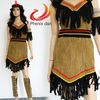 FREE SHIPPING!!Halloween costumes for women supplies cosplay clothes indians female