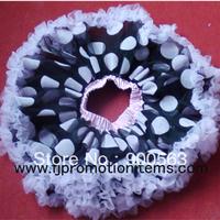 dots skirt tutus, Free shipping ,pink dots with black pettiskirts