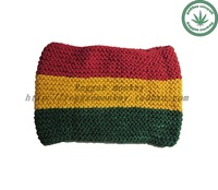 Reggae hiphop wide ribbon wigs headband