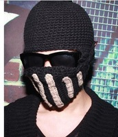 new women& men Handmade knitted hat knitted hat knight cap helmet knitted hat mask cap,beanie