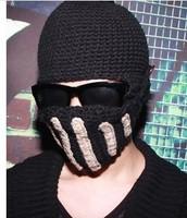 new women& men Handmade knitted hat knitted hat knight cap helmet knitted hat mask cap,beanie