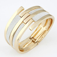 Fashion European And USA Style Punk Mental Mulity Layers Bracelet Gold For Women