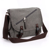 2013 man bag shoulder bag canvas bag male casual bag messenger bag school bag student bag
