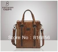 2013 Fashion Genuine Leather messenger bags for men High quanlity Men's shoulder bag handbag totes bag New Free Shipping