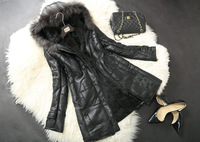 Genuine Sheep Fur and Sheep Leather Jacket Coat Winter Wear  Sheep Fur Outerwear TP9054