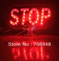 DIY Motorcycle LED Brake Light STOP Sign  Waterproof