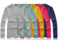 Men's New  Korean style casual knit cardigans  Size M/L/XL/XXL