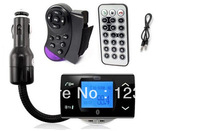 Bluetooth Car Kit MP3 Player FM Transmitter Hand Free Phone with Remote Control