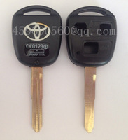 free shipping TOY47-3B TOYOTA transponder key shell, blank key, high quality