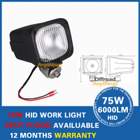 2 Pcs 9-32V 55W 4200LM HID Xenon work light truck Boat truck,engineering vehicles offroad fog working lamp
