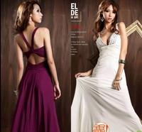 Fashion married bride dress evening dress evening dress bridesmaid dress 2014 formal dress long design