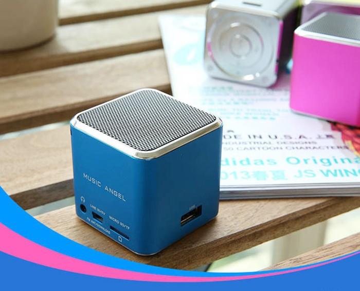 Music Angel Portable Mini JH-MD07U Original Speaker support phone,U Disk,MP3,MP4,PC,Laptop,computer 10pcs DHL free shipping(China (Mainland))