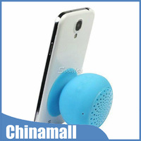Mini Silicone Bluetooth Wireless Speaker Handsfree With Microphone Sucker Sucking For Phone MP3 PC Free Express 10pcs/lot
