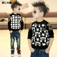 2013 new children's Fashion sweaters baby boys pullover coat autumn -winter kids clothes for spring toddler clothing