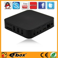 E- 2pcs /lot Google Andriod 4..0 tv box AMLogic-8726 M3 Android Mini TV Box 1.2Ghz 1G Ram 4G Rom google tv