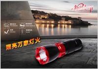 Adjustable stands mountain bike led bicycle flashlight super bright tactical flashlight mini