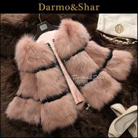 Fur 2013 full leather fox fur coat short design women's 2013 fox fur